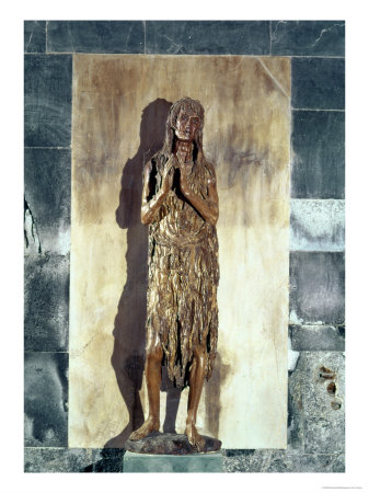 Mary Magdalene, c.1455 Giclee Print by  Donatello