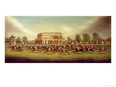 The Doncaster St. Leger of 1812 - the Finish Giclee Print by John Sinclair