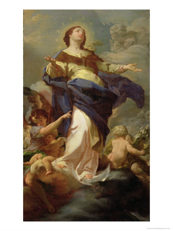 The Immaculate Conception Giclee Print by Corrado Giaquinto