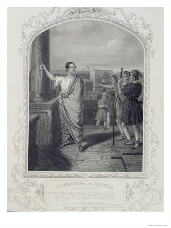 brutus from julius caesar. in Julius Caesar by