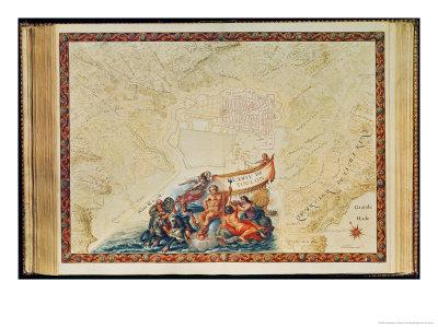 Plan of Toulon, from the Atlas Louis XIV, 1683-88 Giclee Print by Sebastien Le Pretre de Vauban