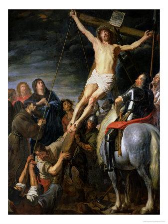Raising the Cross, 1631-37 Giclee Print by Gaspard de Crayer