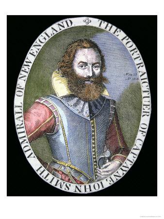 Captain John Smith Giclee Print by Simon de Passe
