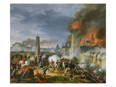 The Attack and Taking of Ratisbon, 23rd April 1809, 1810 Giclee Print by Charles Thevenin
