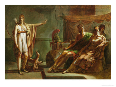 Phaedra and Hippolytus, 1802 Giclee Print by Pierre Narcisse Guérin