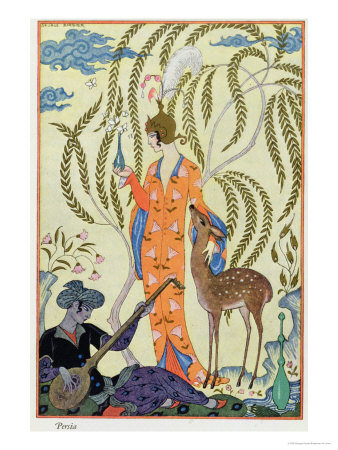 Persia, Illustration from The Art of Perfume, Pub. 1912 Giclee Print by Georges Barbier