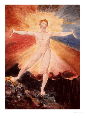 Glad Day or the Dance of Albion, c.1794 Giclee Print by William Blake