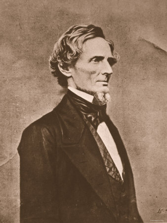 Jefferson Davis Photographic Print