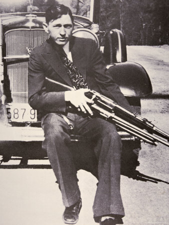 Clyde Barrow, 1934 Photographic Print by Bonnie Parker