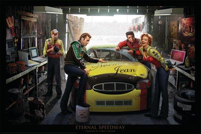 Racerbane for evigt Kunsttryk