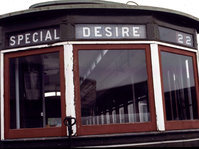 The Trolley to Desire Street in New Orleans Photographic Print
