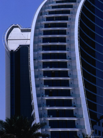 Modern Hotel, Dubai, United Arab Emirates Photographic Print by Phil Weymouth