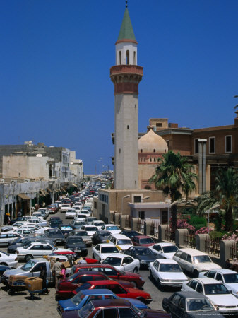 Rush Hour in the Walled City of Tripoli, Libya Photographie