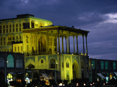 Ali Ghapu Palace on Emam-E Khomeini Square, Esfahan, Iran Photographic Print by Phil Weymouth