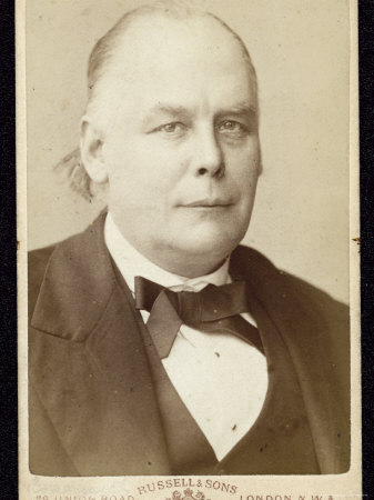 Charles Bradlaugh, Statesman and Reformer Photographic Print