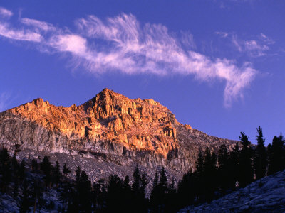 Eagle Crest, Sierra Nevada, Mineral King, USA Photographic Print by Nicholas Pavloff