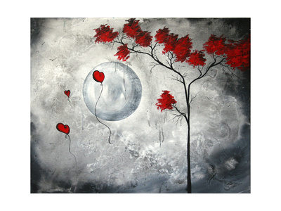 Far Side Of The Moon Posters by Megan Aroon Duncanson
