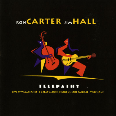 Ron Carter and Jim Hall, Telepathy Posters