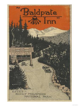 Estes Park, Colorado - Baldpate Inn Promotional Poster No. 1 Prints by  Lantern Press