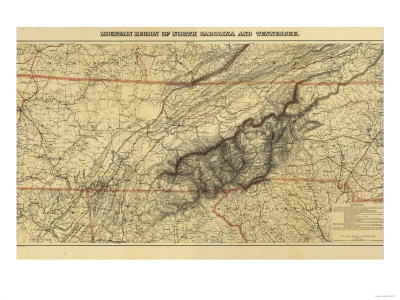 map of north carolina mountains. Mountains of North Carolina