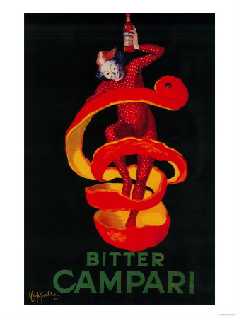 Bitter Campari Vintage Poster - Europe Posters by  Lantern Press