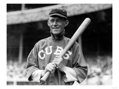 John Evers, Chicago Cubs, Baseball Photo - New York, NY Art Print