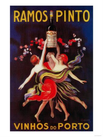 Ramos Pinto Vintage Poster - Europe Posters af  Lantern Press