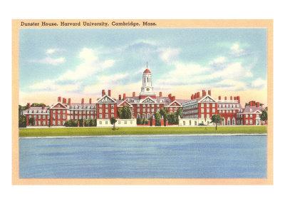 Dunster House, Harvard, Cambridge, Mass. Posters
