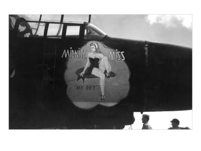Nose Art, Midnite Miss, Pin-Up Posters