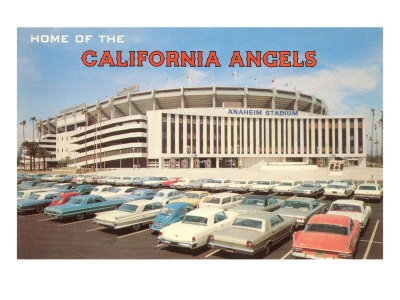 Home of the California Angels Print