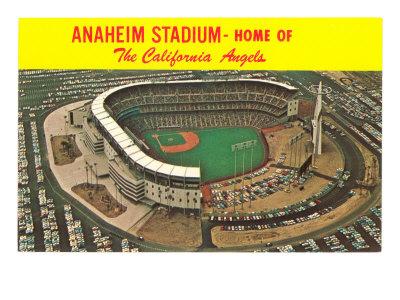 Anaheim Stadium, California Prints