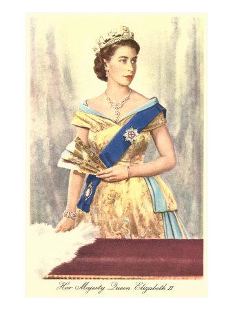Queen Elizabeth Print