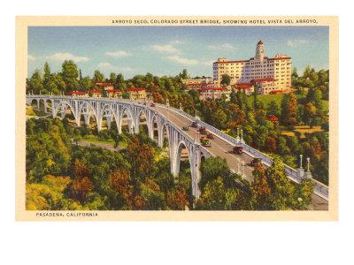 Colorado Street Bridge, Pasadena, California Prints