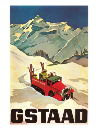 Ski Patrol Gstaad Posters