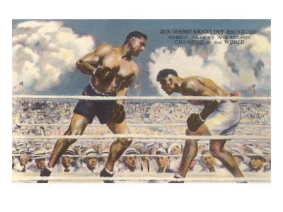 Dempsey-Willard Fight, 1919 Plakater