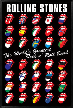 greatest rock and roll band stones