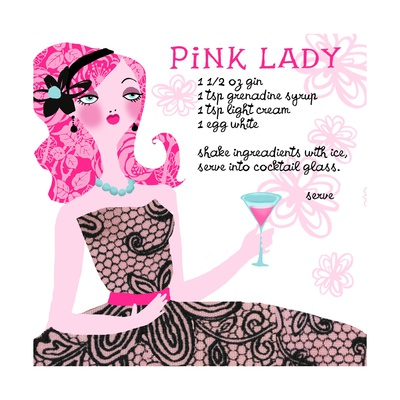 Pink Lady Drink Recipe Prints - AllPosters.co.uk