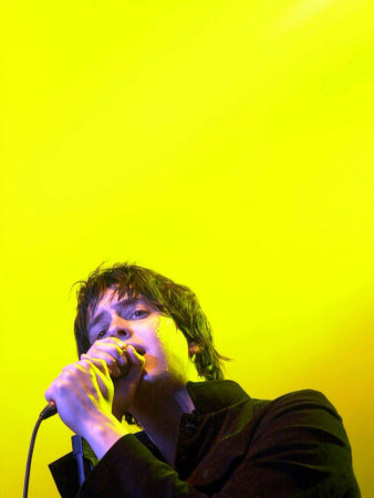 The Strokes Frontman Julian Casablancas on Stage T in the Park at Balado, 11th July 2004 Photographic Print