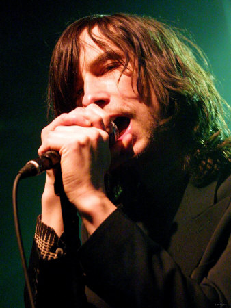 Primal Scream at the Garage. April 2003 Fotografiskt tryck