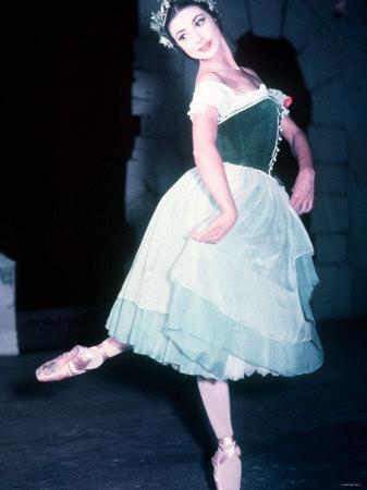 Margot Fonteyn Ballerina 1949 Ballet Giselle Fotografie-Druck