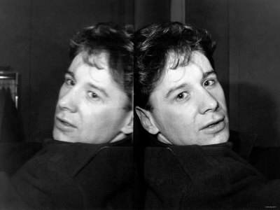 Jim Kerr of Pop Group Simple Minds. c.1988 Fotografisk tryk