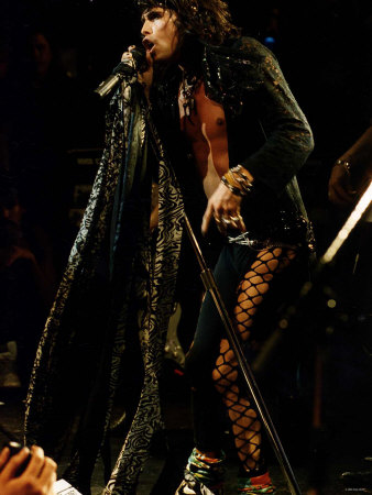 Steve Tyler of Aerosmith Photographic Print