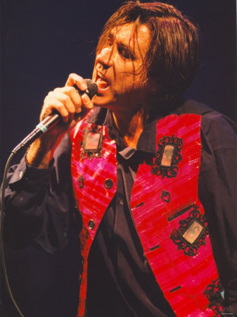Bryan Ferry in Concert at the Newcastle City Hall, February 1995 Lmina fotogrfica