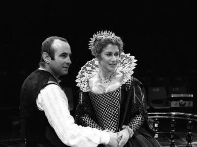 Helen Mirren and Bob Hoskins in Duchess of Malfi Theatre Play, March 1981 Photographic Print