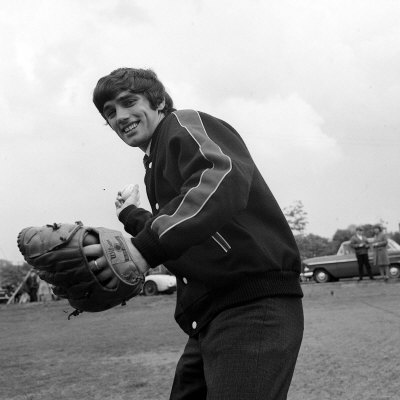Manchester United Star George Best Played Unusual Role When He Threw Out First Ball of the Season Photographic Print