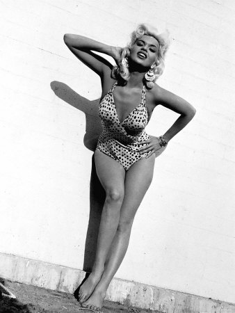 Jayne Mansfield Actress Photographic Print