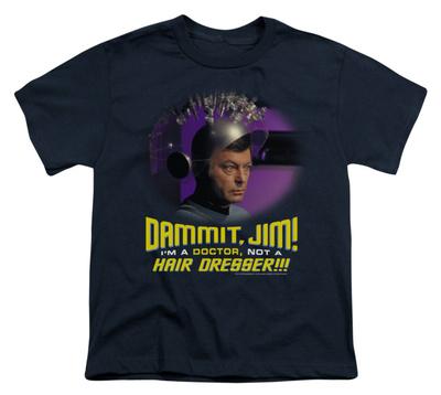 Youth: Star Trek - Not a Hair Dresser T-shirts