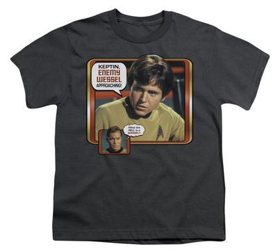 Youth: Star Trek - Enemy Vessel T-shirts