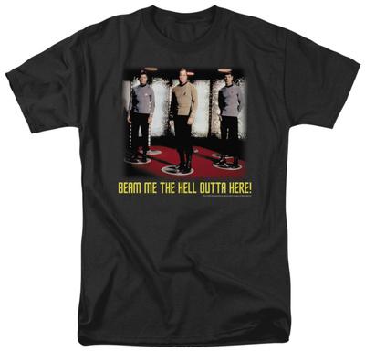 Star Trek - Beam Me Out T-shirts