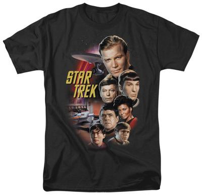 Star Trek - The Classic Crew T-Shirt